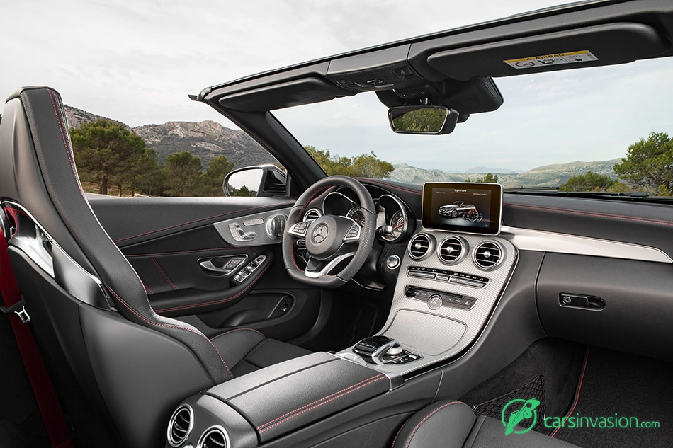 2016 Mercedes-AMG C43 4MATIC Cabriolet Interior
